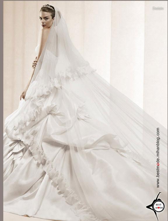 دامن لباس عروس